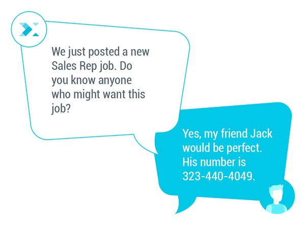 text message recruiting