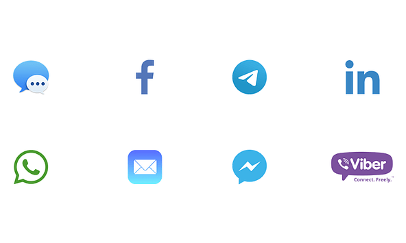 social icons compressed